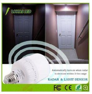 Radar Motion Sensor Light Bulb E26 T80 20W pictures & photos