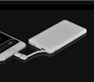 Hot Seller Power Bank Build in Micro Cable /and iPhone 5/6 Adaptor 4000mAh or 4600mAh pictures & photos