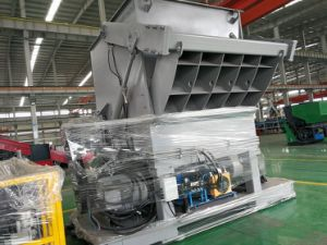 European Standard Heavy Duty Single Shaft Shredder for HDPE Films pictures & photos