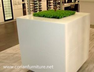 Indoor Solid Surface Water Proof Plant Stand Flower Stand pictures & photos
