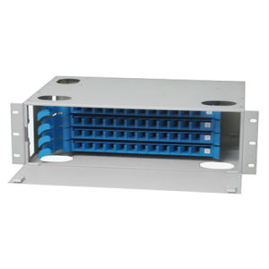 "19"" Rack Mount ODF Drawer Type Fiber Optic Patch Panel pictures & photos"
