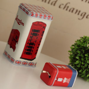 British Wind Style Tin Music Box Set pictures & photos