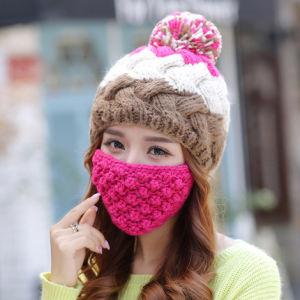 Promotion Hand Knit Crochet Beard Moustache Winter Beanie Hat pictures & photos