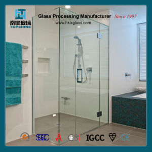 Bathroom Screen Sliding Door Glass for Hotel Project pictures & photos