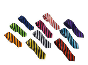 2017 Wholesale Polyester Unisex Stripe Tie (A145) pictures & photos