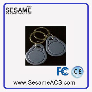 Customizable Print Smart Keyfob Gray Access Control Fobs (SD3G) pictures & photos