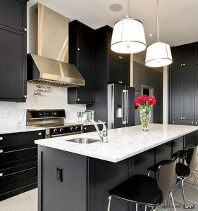 PVC Sheet Kitchen Cabinetry pictures & photos