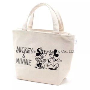 Canvas Cotton Tote Lunch Bag, Canvas Shopping Bag pictures & photos