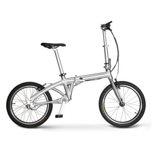 20 Inch Seamless Steel Pipe Foldable Cardanic Bike 20′′ Electric Folding Shaft Drive Bicycle Solid Tire 3 Years Guaratee pictures & photos