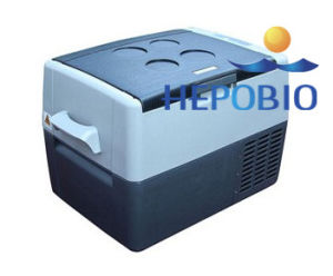 Ce Certificated Mobile Style Mini Car Cooler Portable Car Freezer/Cooler pictures & photos