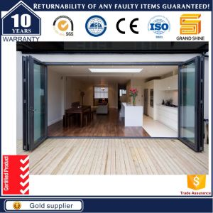 Australia Standard Aluminum Framed Double Insulated Large Bi-Fold Door pictures & photos
