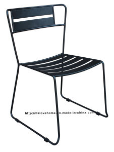 Modern Metal Restaurant Furniture Side Steel Dining Chair pictures & photos