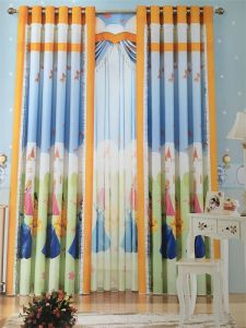 Home Use Curtain Polyester Fabric EDM5300