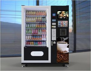 Cold Beverage and Coffee Combo Vending Machine LV-X01 pictures & photos