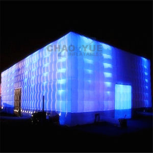 Commercial Grade Inflatable Party Cube Tent with LED Light pictures & photos