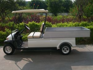 Hot Sale Ce Approved Electric Utility Golf Car with Cargo pictures & photos