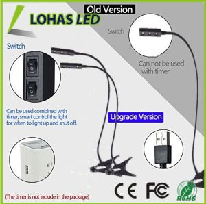 Gooseneck Arm Flexible Neck 360 Degree LED Plant Grow Light for Indoor Plants pictures & photos