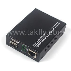 1.25g Single Port Base-T SFP Media Converter pictures & photos
