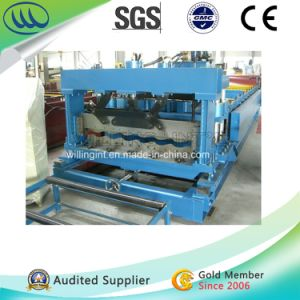Top Quality Corrugated Metal Steel Tile Roof Roll Forming Machine pictures & photos