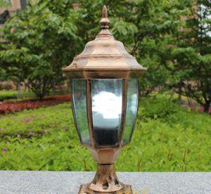 Haochang TUV Solar Garden Light with Decorative Features pictures & photos