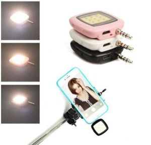 Selfie Stick LED Flash Light for Mobile Phone/Tablet/Camera pictures & photos