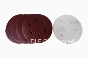 Hook & Loop Abrasive Disc for Sanding (Red) pictures & photos