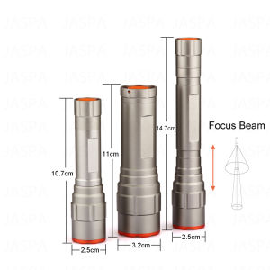 Zoom 5W Aluminum LED Flashlight (11-1T1603) pictures & photos