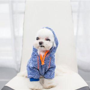 Pet Dog Spring Autumn One-Piece Teddy Cotton Clothes pictures & photos