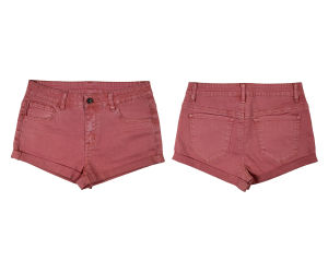 Ladies Summer Short & Nice Washing Color Twill (MY-043) pictures & photos
