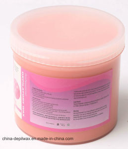 425g Jar Soft Depilatory Wax Pink Creme Wax with Less Pain Waxing pictures & photos