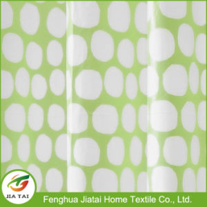 Lime Green Interdesign Honeycomb PVC-Free PEVA Shower Curtain pictures & photos