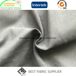 100% Polyester Micro Fiber 140GSM Satin Peach Skin Fabric Coat Fabric pictures & photos