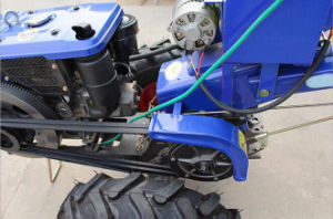 10HP Hand Tractor Diesel Walking Tractor pictures & photos