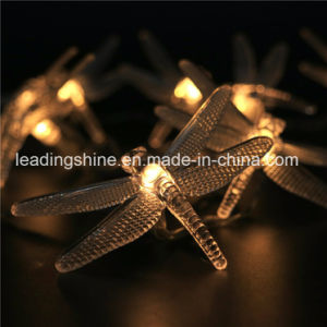 Warm White RGB Colorful Dragonfly Silver Wire Light 2 M Multi Color Battery Fairy Light String pictures & photos