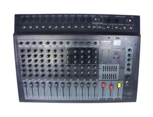 Hot Selling Power Mixer Console Professional with 300W pictures & photos