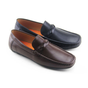 PU/Leather Driving Shoes for Men with Good Sales (LSD-16501465)