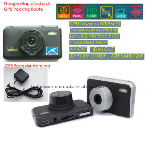 2017 New ID 2.7inch Car DVR with GPS Tracking Route Car Dash Camera by Google Map Playback, GPS Logger Car Digital Video Recorder DVR-2709 pictures & photos