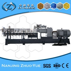 PE PP Pet PA Plastic Granules Making Twin Screw Extruder pictures & photos