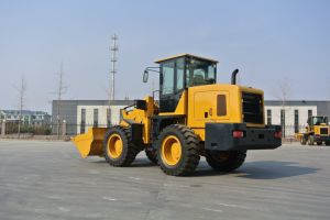 Eougem Compact Wheel Loader with 1.5cbm Bucket 2.8ton Rated Loading pictures & photos