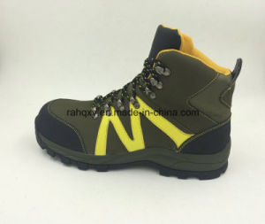 Casual Style Split Nubuck Leather Safety Working Shoes Outdoor Shoes (16053) pictures & photos
