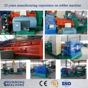 Two Roll Rubber Mixing Mill with Stock Blender pictures & photos