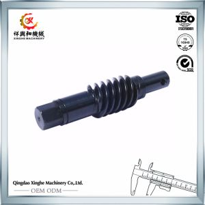 Alloy Steel Precision Machining Parts Worm Gears/Shaft pictures & photos