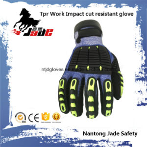 ANSI Cut 5 TPR Work Impact Glove pictures & photos