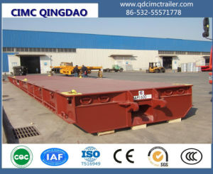 Terminal Port 20FT/40FT/62FT Cargo/Container Roll Trailer pictures & photos