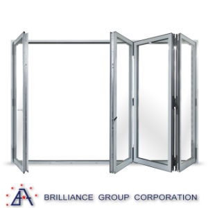 Wholesale Aluminum Interior French Folding Door pictures & photos