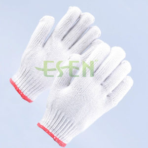 Different Gauge Cotton Glove for Labors pictures & photos