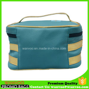Soft PU Leather Cosmetic Bag Guangzhou Manufacturer pictures & photos