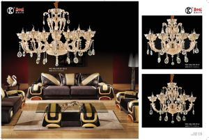 High Standard Golden Zinc Alloy Chandelier Light pictures & photos