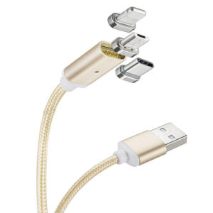 Mobile Accessories New Magnetic USB Data Cable for Samsung Huawei pictures & photos