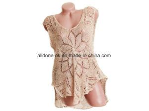 Hand Crochet Knit Sweaters Clothes Vests Dresses Cardigans Garment Top pictures & photos